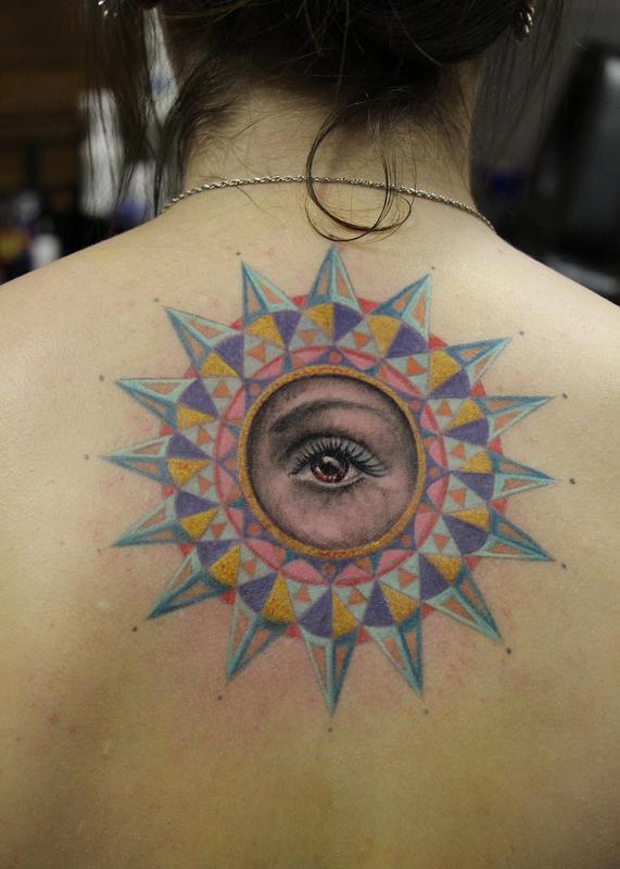 Geometric Eye Tattoo : geometric, tattoo, Geometric, Capone:, TattooNOW