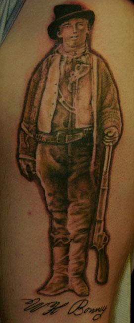 Billy The Kid Tattoo : billy, tattoo, Billy, Henk:, TattooNOW