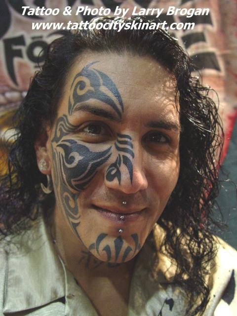 Billy The Kid Tattoo : billy, tattoo, Tribal, Billy, Larry, Brogan:, TattooNOW