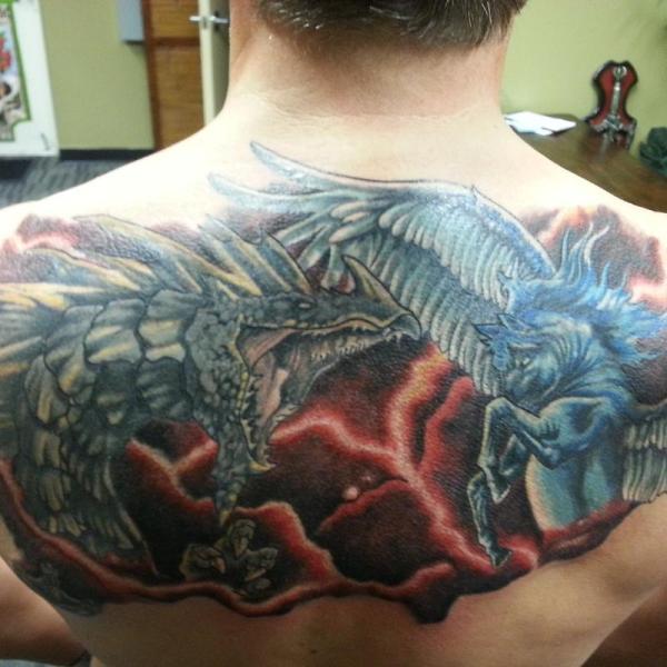 Epic Battle Steve Cornicelli Tattoos