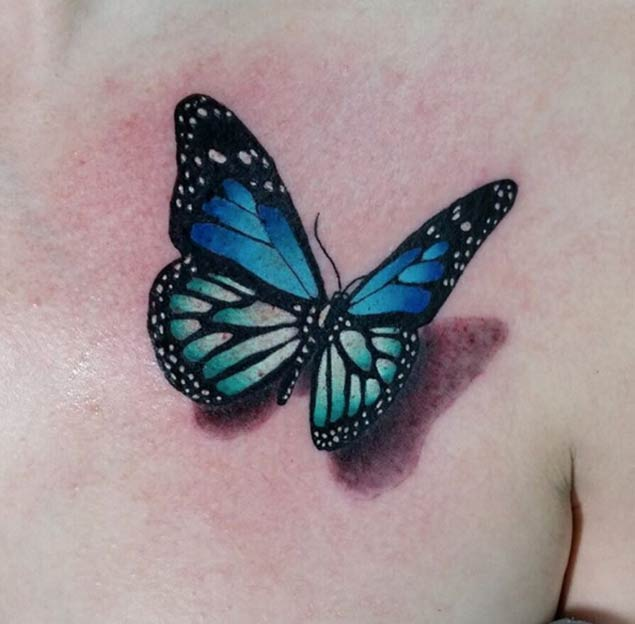 35 Breathtaking Butterfly Tattoo Designs For Women Ideas And Designs