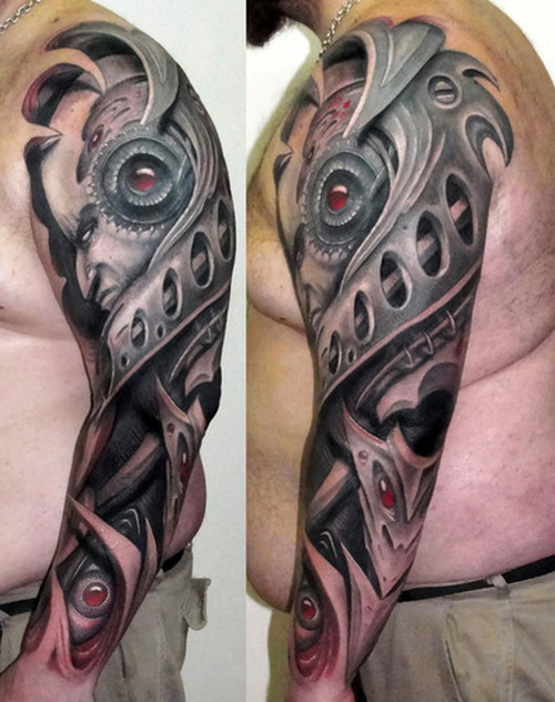 3D Men Arms Tattoo Ideas And Designs