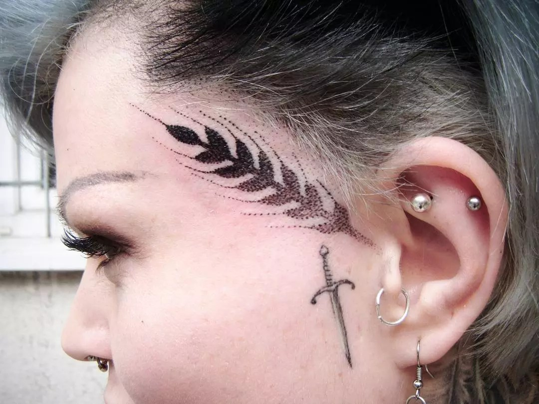 65 Best Face Tattoo Designs Ideas Enjoy Yourself 2019 Ideas And Designs