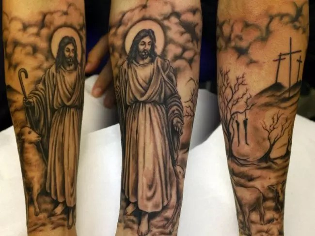 55 Best Jesus Christ Tattoo Designs Meanings Find Ideas And Designs
