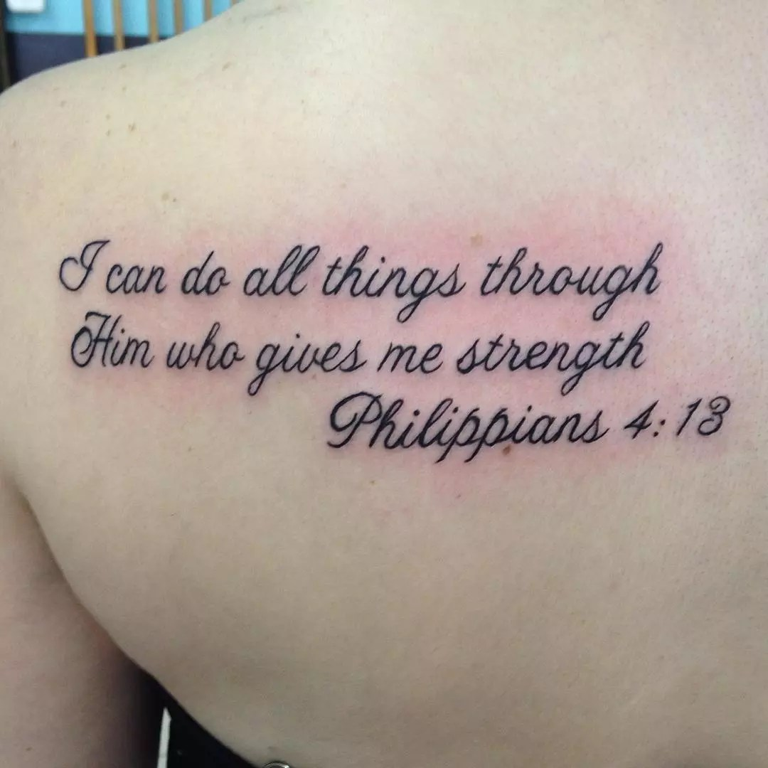 25 Nobel Bible Verses Tattoos Ideas And Designs