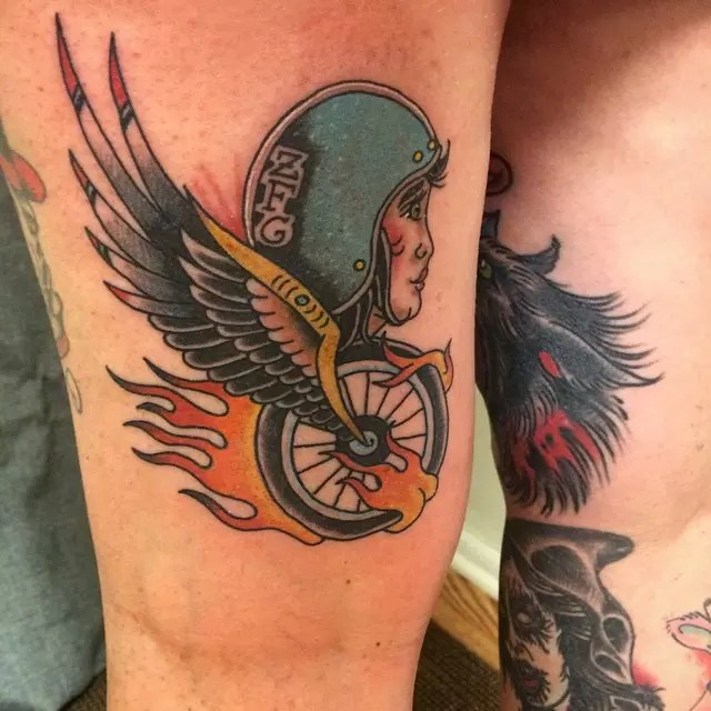 Biker Tattoo Designs Ideas And Designs