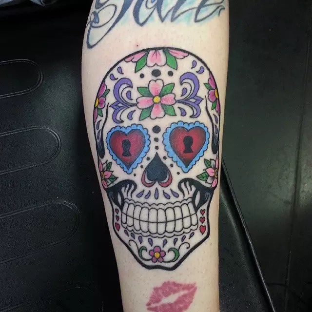 60 Best Sugar Skull Tattoo Designs Meaning Ideas And Designs