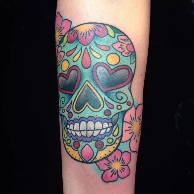 105 Best Sugar Skull Tattoo Designs Meaning Ideas And Designs