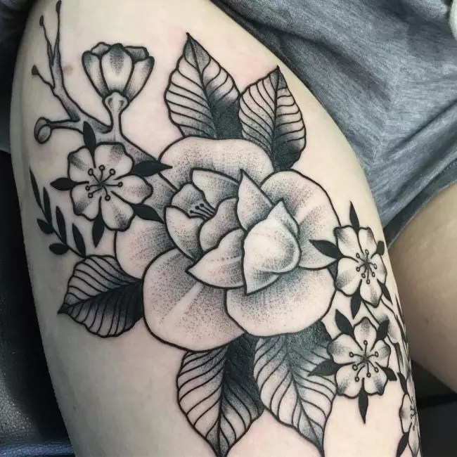 115 Best Thigh Tattoos Ideas For Women Designs Ideas And Designs