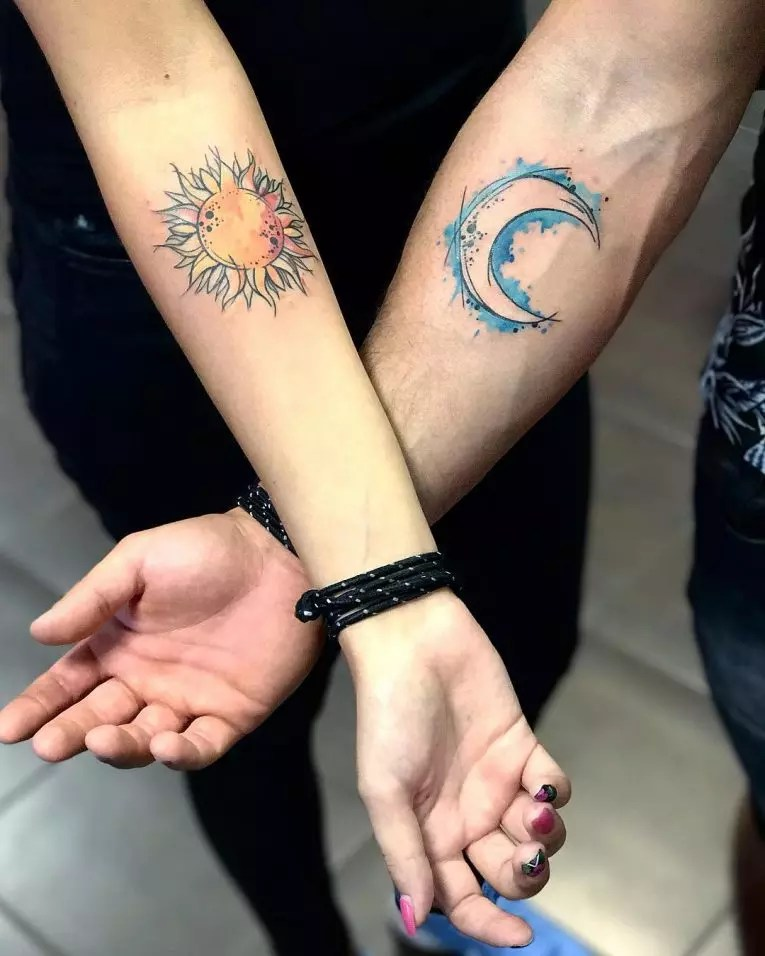 28 His And Hers Tattoo 30 Matching His And Hers Ideas And Designs