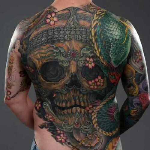 Tibetan Idea Skull Tattoo Ideas And Designs