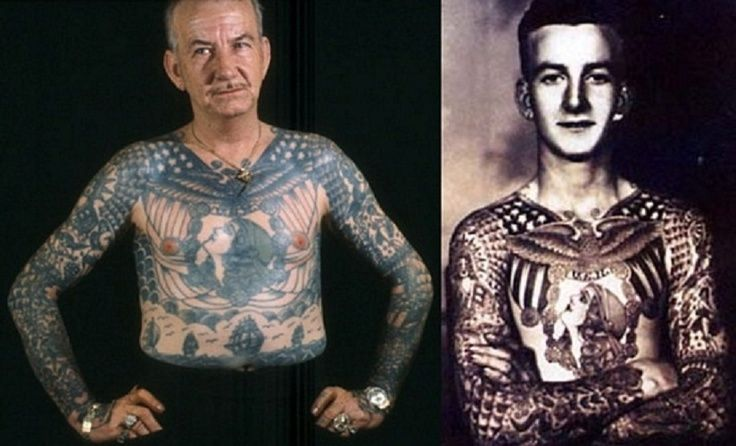Old People With Different Tattoos With Pictures New Ideas And Designs