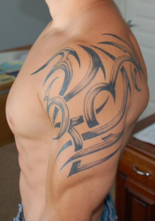 27 Beautiful Tribal Shoulder Tattoos Ideas And Designs