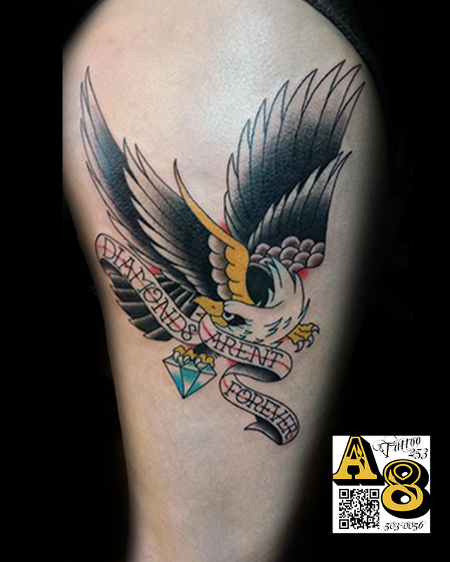 Ali Aces And Eights Tattoo And Piercing Lakewood Wa Ideas And Designs