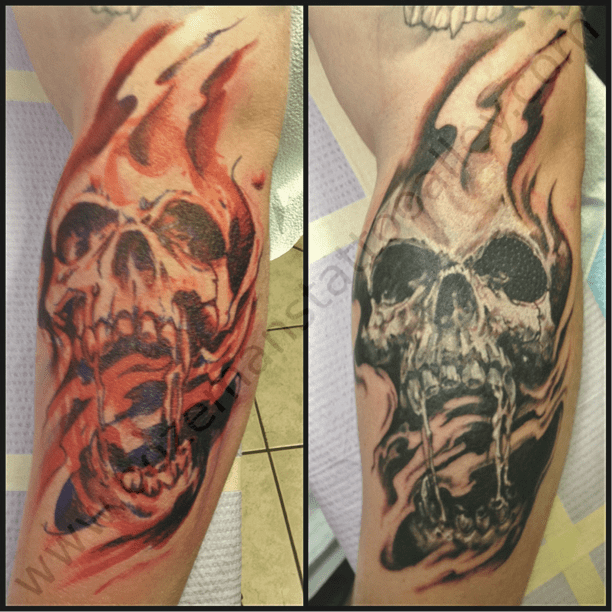 Fireskull Bozeman S Tattoo Alley L L C Pictures Ideas And Designs