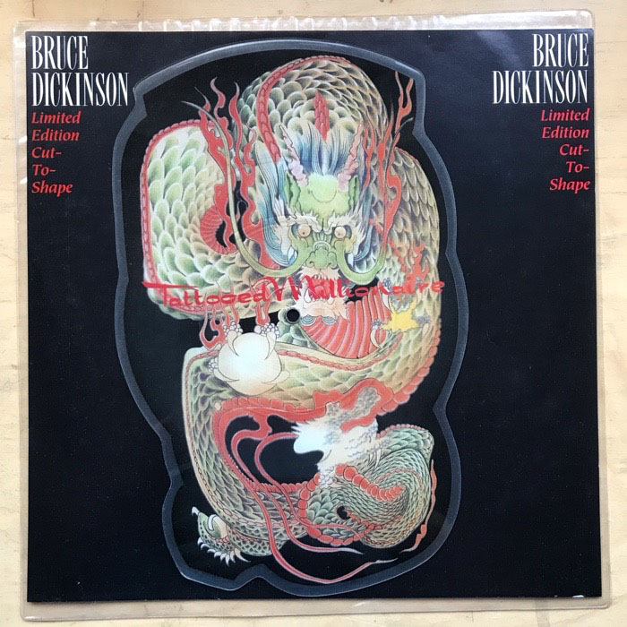 Bruce Dickinson Tattooed Millionaire Records Vinyl And Ideas And Designs