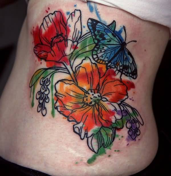 3D Flower Tattoo Ideas And 3D Flower Tattoo Designs Page 6 Ideas And Designs
