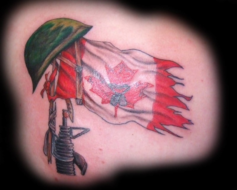 Flag Tattoo Ideas And Flag Tattoo Designs Page 2 Ideas And Designs