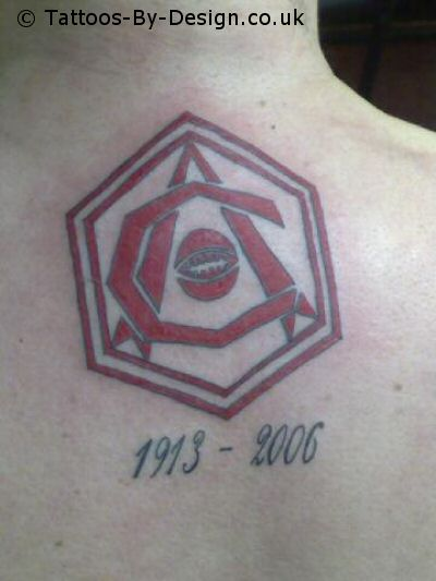 Arsenal Fc 1930 S Crest Tattoo Ideas And Designs