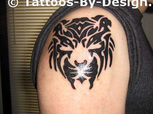 Tribal Tiger Inner Strength Tattoo Ideas And Designs