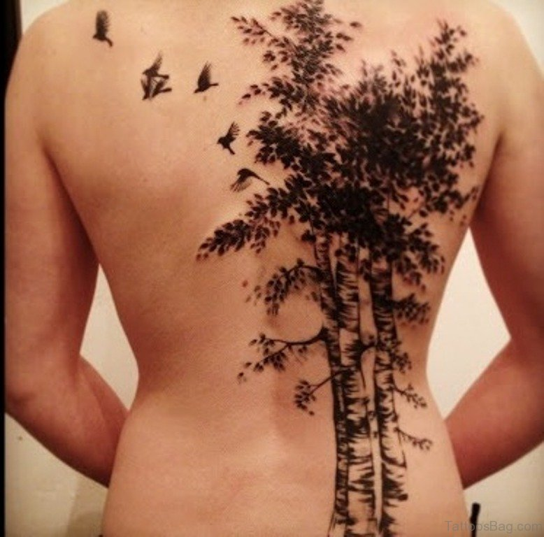 68 Cute Birds Tattoo Designs For Back Ideas And Designs