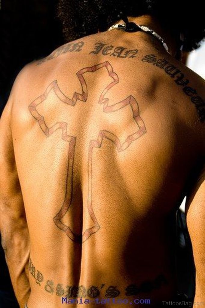 97 Stunning Cross Tattoos For Back Ideas And Designs