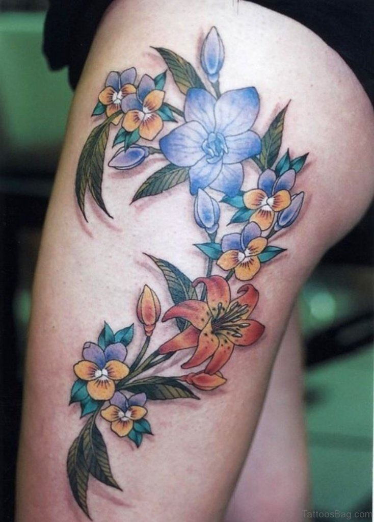 33 Beautiful Thigh Tattoo Ideas And Designs