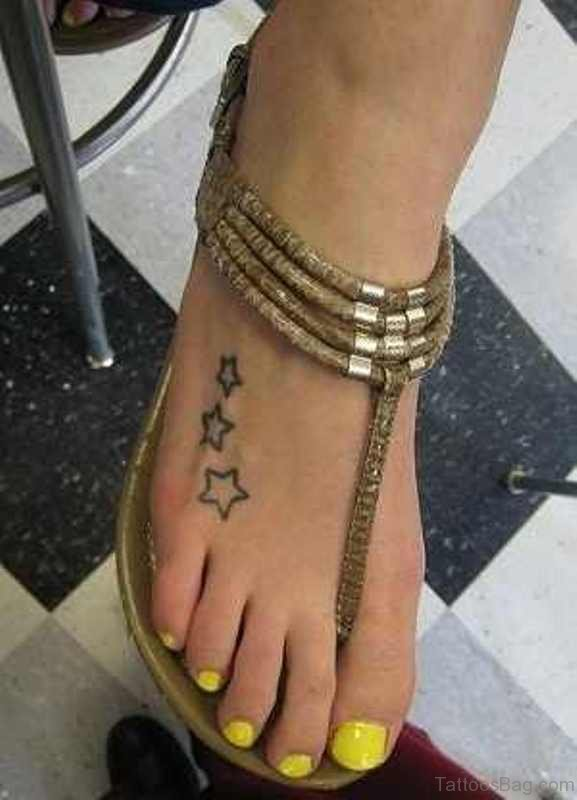84 Cute Star Tattoo On Foot Ideas And Designs
