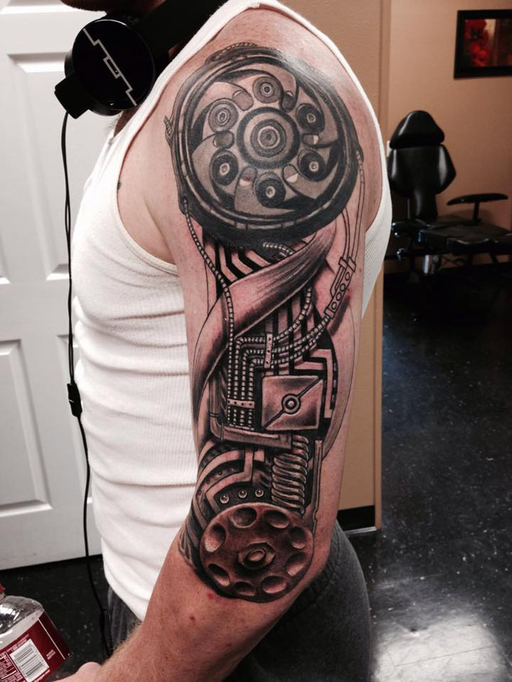Biomech Tattoos Designs Ideas And Meaning Tattoos For You Ideas And Designs
