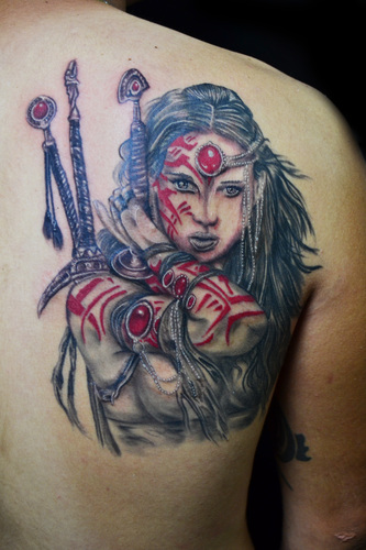 Warrior Tattoos Designs Ideas And Meaning Tattoos For You Ideas And Designs