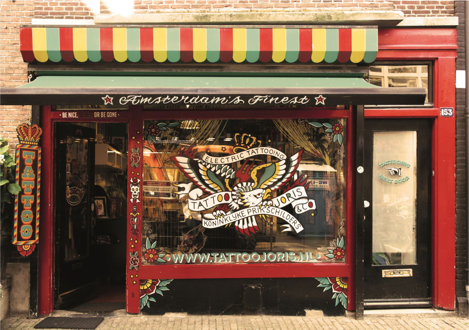 Tattoo Amsterdam Get A Tattoo In Tattooshop Joris Co Ideas And Designs
