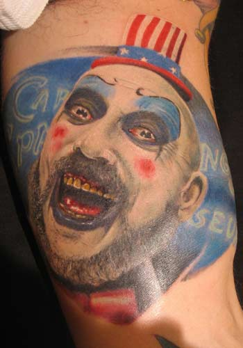 Worldwide Tattoo Conference Movie Horror Tattoos Page 1 Ideas And Designs