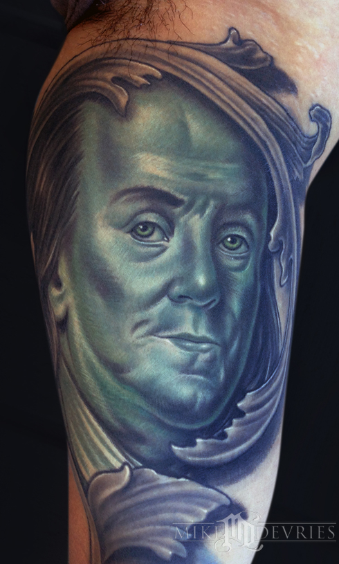 Mike Devries Portrait Tattoos Page 1 Ideas And Designs