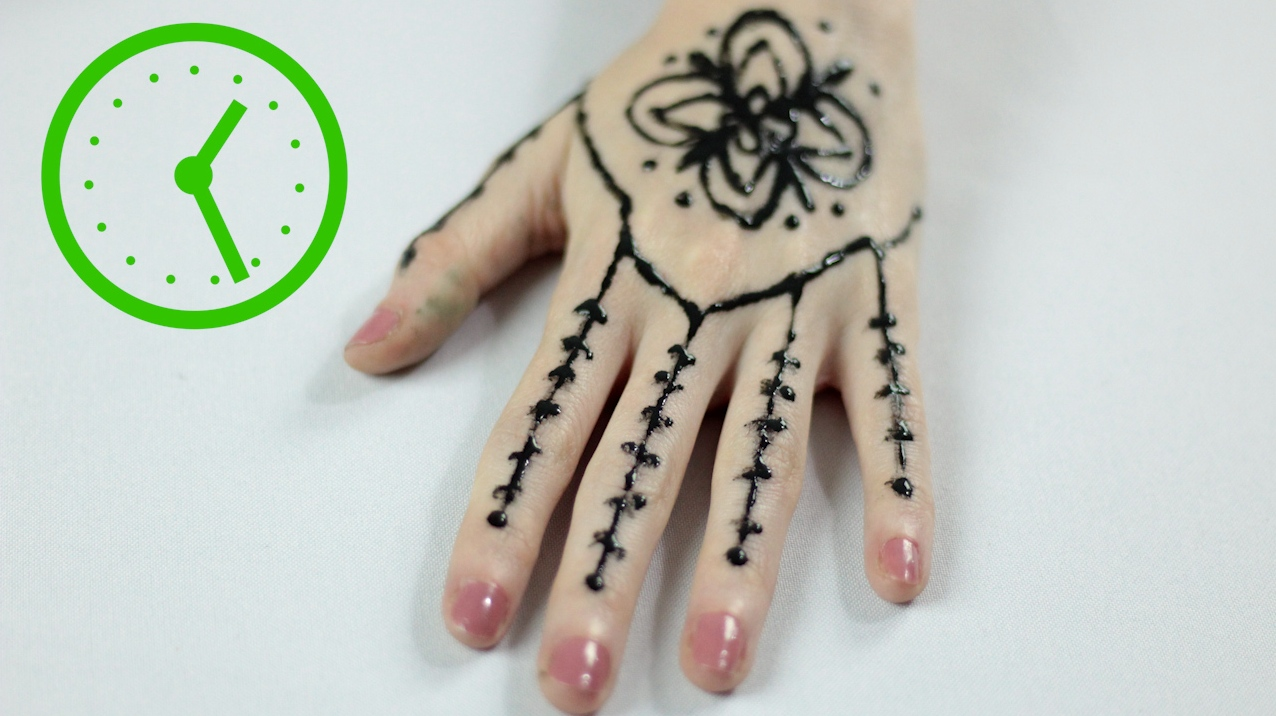 3 Ways To Draw Henna Tattoos Wikihow Ideas And Designs