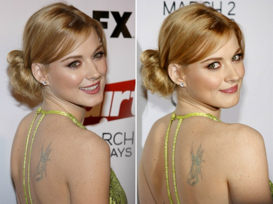 Alexandra Breckenridge Loose Updo With The Hair Tucked Ideas And Designs