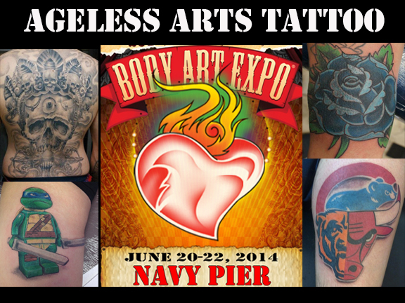 Ageless Arts Tattoo Will Be At The Chicago Body Art Expo Ideas And Designs
