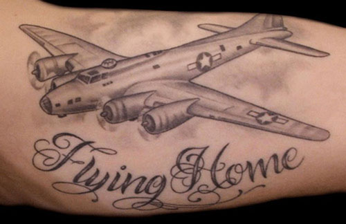 Airplane Tattoo Designs 16 Bodysstyle Ideas And Designs