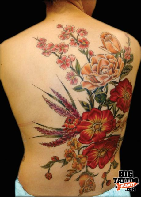 Amy Wagner Is Tattoolicious Colour Tattoo Big Ideas And Designs