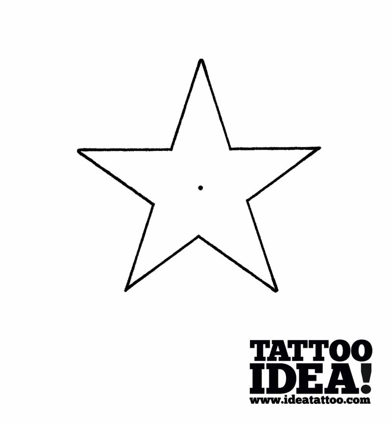 5 Point Star Drawing At Getdrawings Com Free For Ideas And Designs