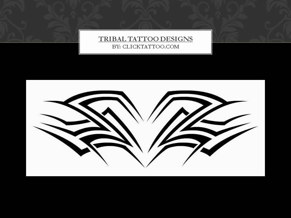 Tribal Tattoo Designs Strength And Spirituality Youtube Ideas And Designs