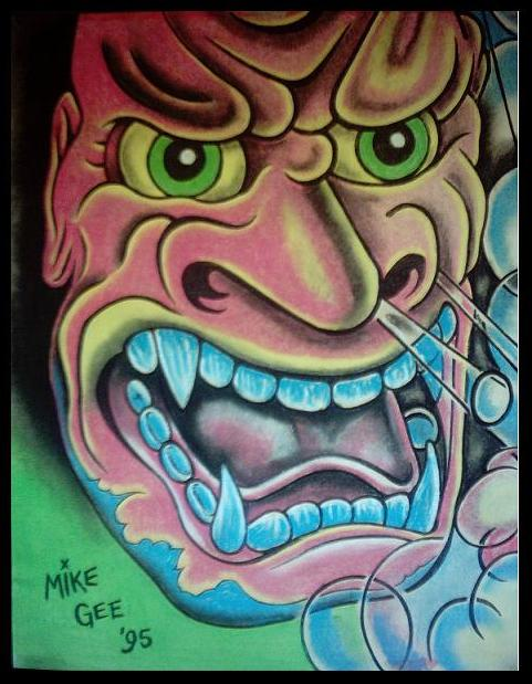 Demon Tattoo Design By Mikegee777 On Deviantart Ideas And Designs