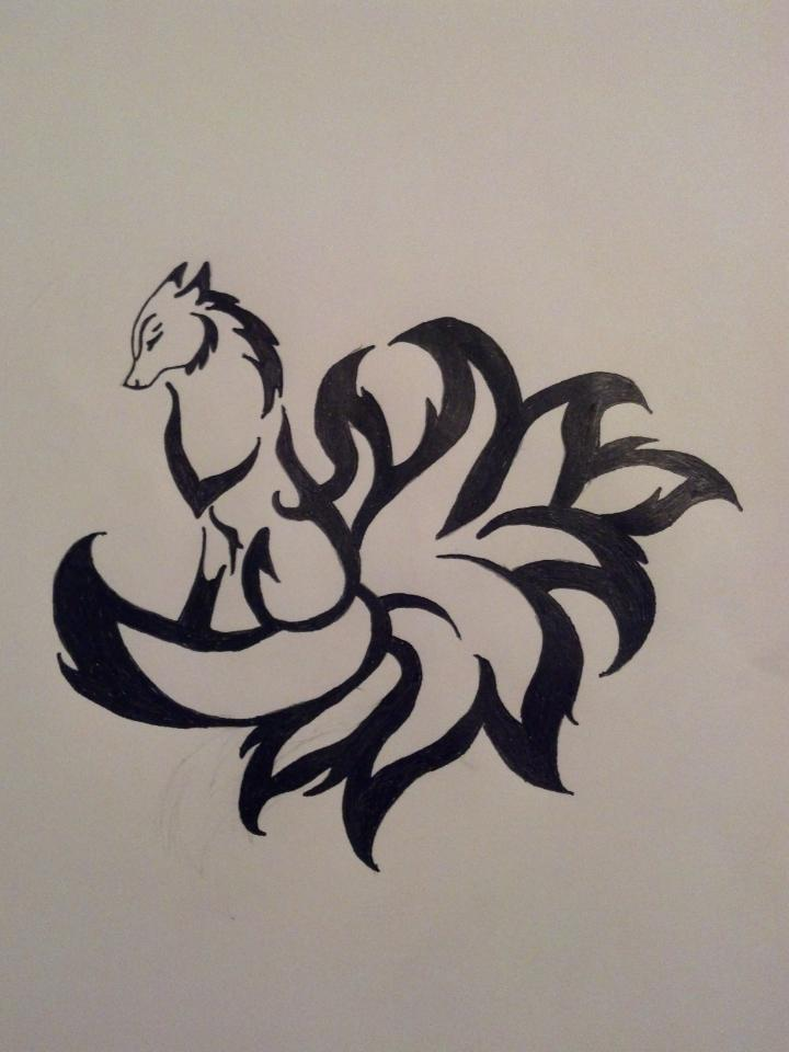 9 Tail Fox Demon By Pipmyster On Deviantart Ideas And Designs