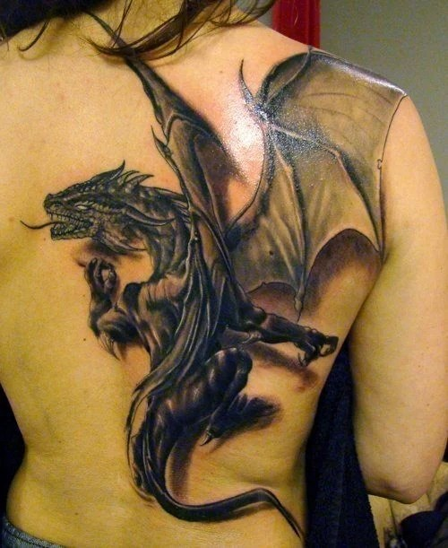 Dragon Tattoo Designs For Guys And Girls « Tattoo Articles Ideas And Designs