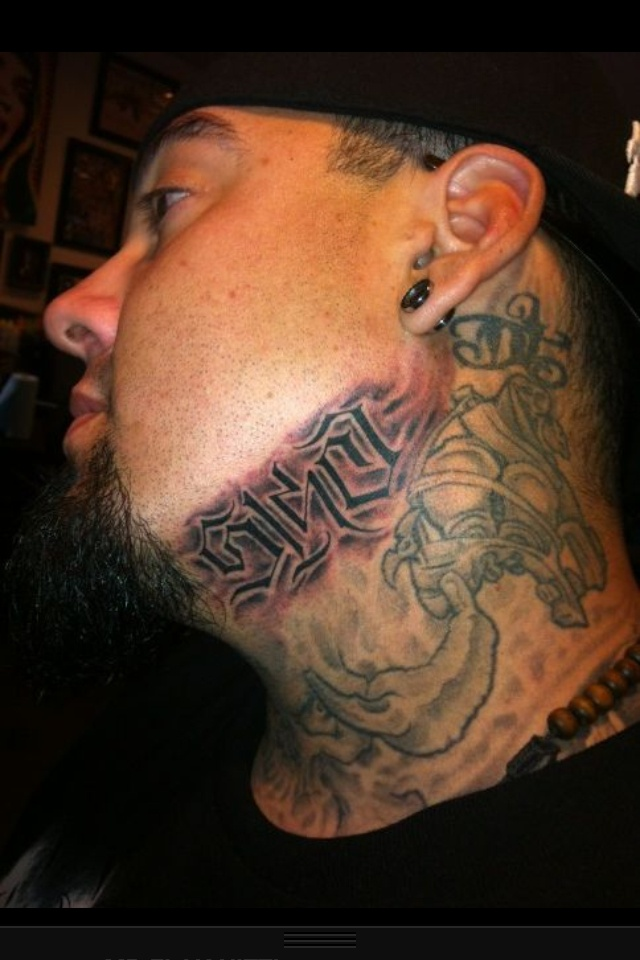 Big Gus Neck Tattoo 5150 Big Gus Pinterest Ideas And Designs