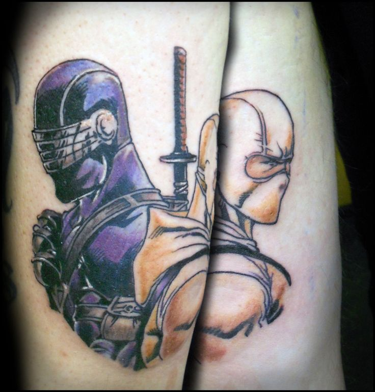 Snake Eyes And Stormshadow Tattoos I Like Pinterest Ideas And Designs
