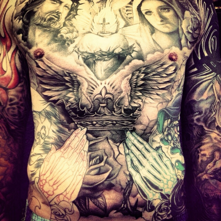 Chest Piece Big Gus Tattoo Tattoos Piercings Ideas Ideas And Designs