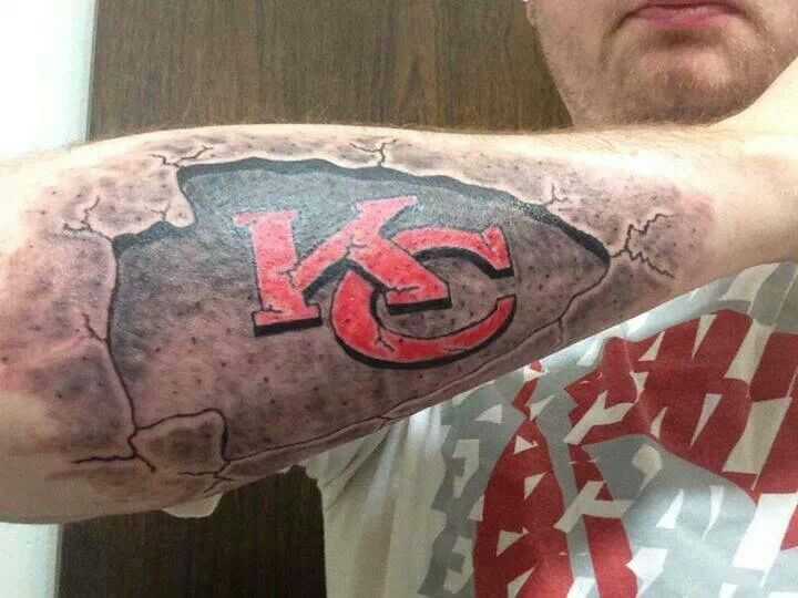 1000 Images About Kansas City Chiefs Tattoos On Pinterest Ideas And Designs