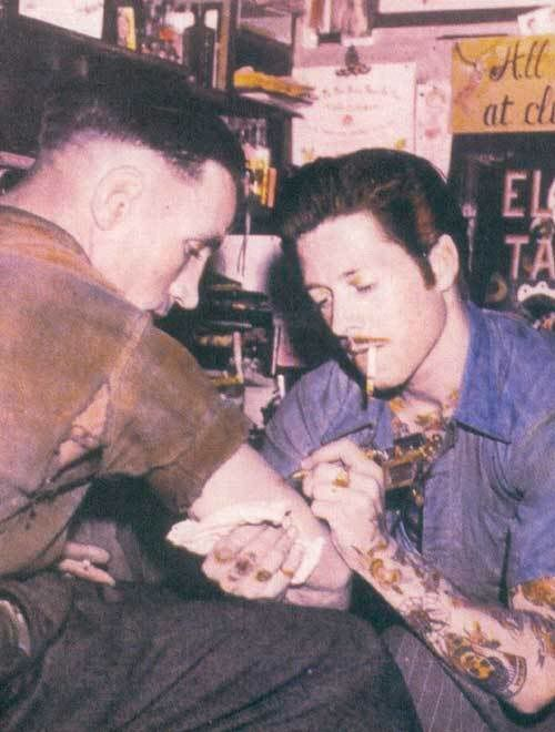 1950 S Tattoos The Old Days Pinterest Ideas And Designs