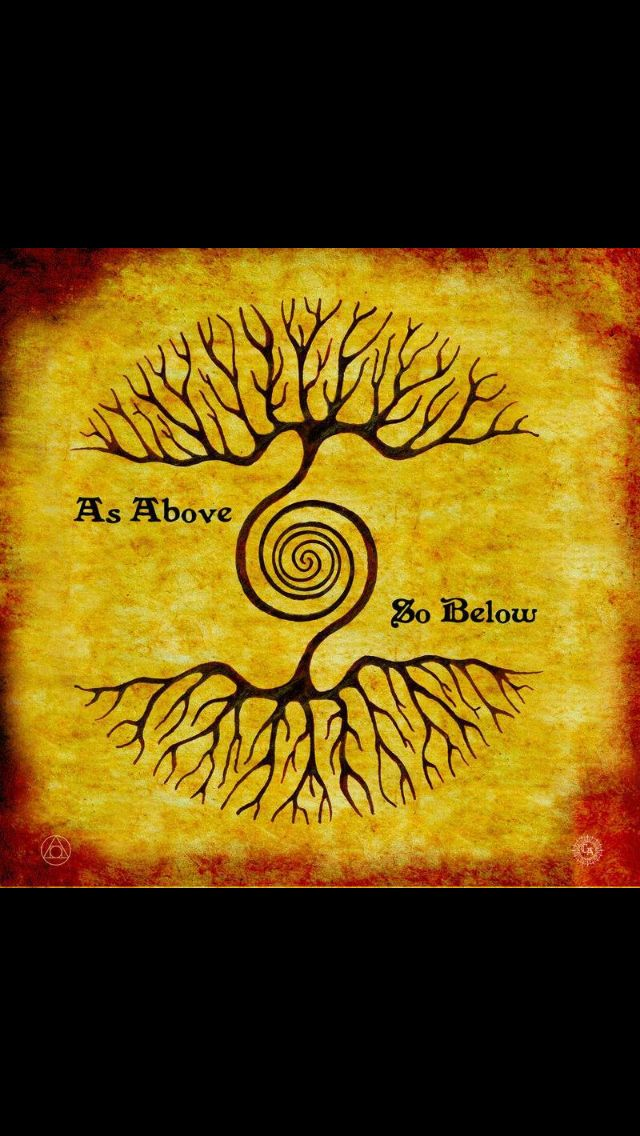 As Above So Below Tattoos Pinterest Ideas And Designs