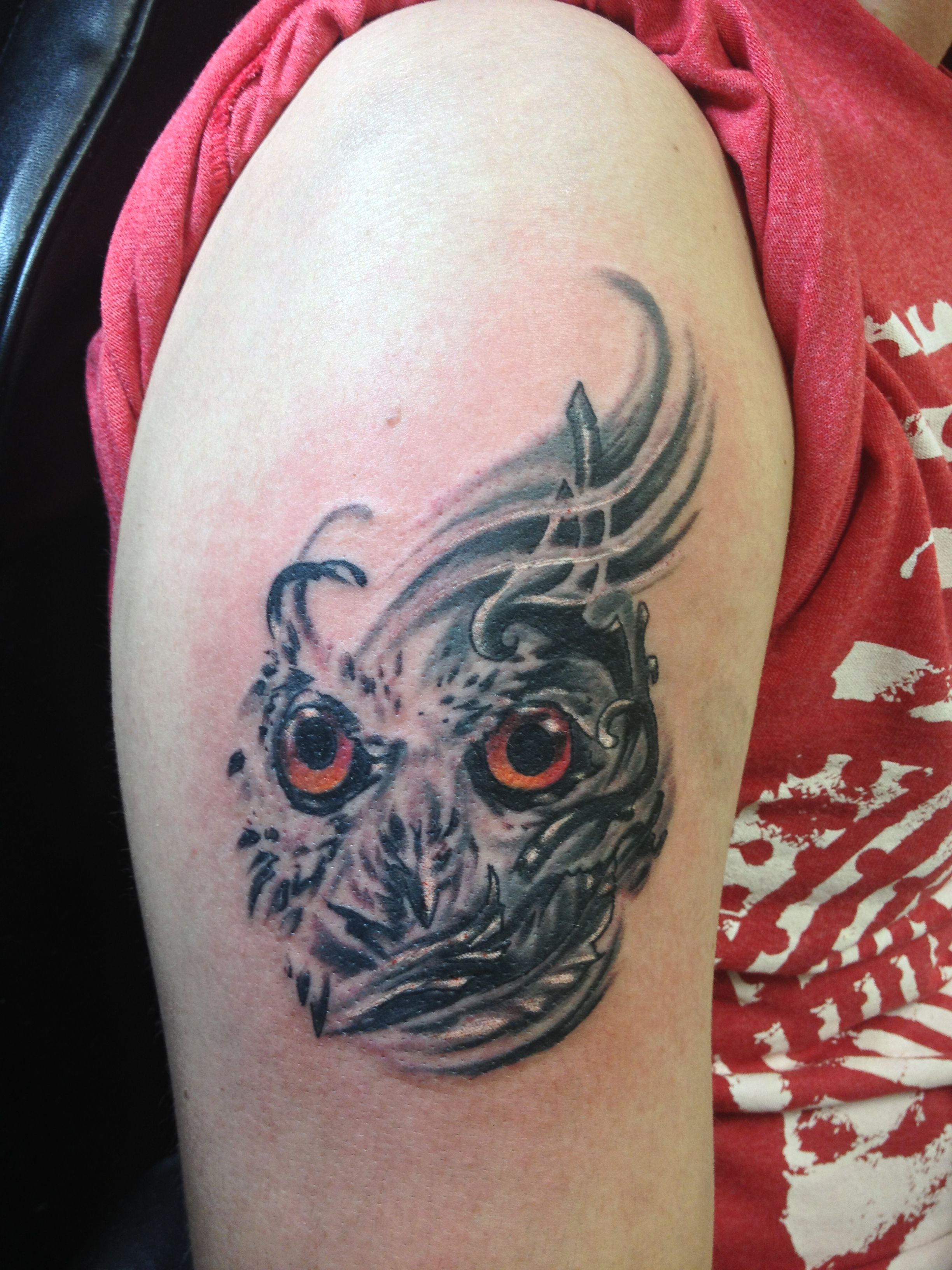 Abstract Owl Tattoos Pinterest Ideas And Designs